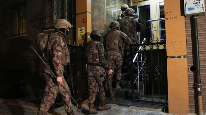 'Sedat Peker' operasyonu: 63 gözaltı kararı!