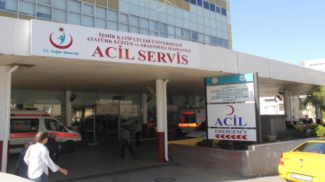 163 acemi kasap hastaneye koştu!