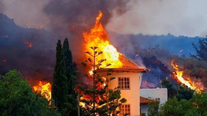 400 hektar tarım alanı ve 320 ev yandı!