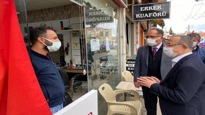 AK Parti İl Başkanı Sürekli'den Foça mesaisi