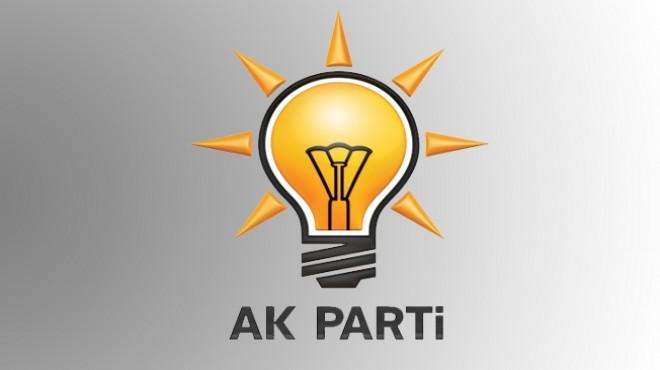 AK Parti İzmir'de flaş gelişme: O ilçe başkanı ve yönetiminin istifası alındı