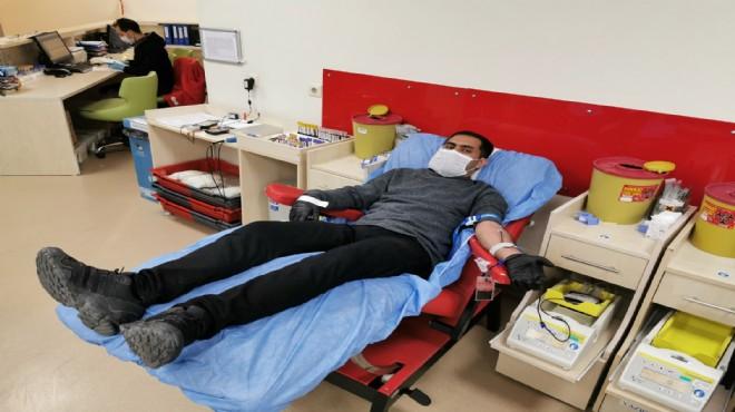 AK Parti İzmir'den kan bağışı seferberliği!