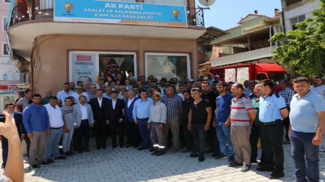 AK Parti İzmir'in ikinci bölge vekillerinden teşekkür turu!