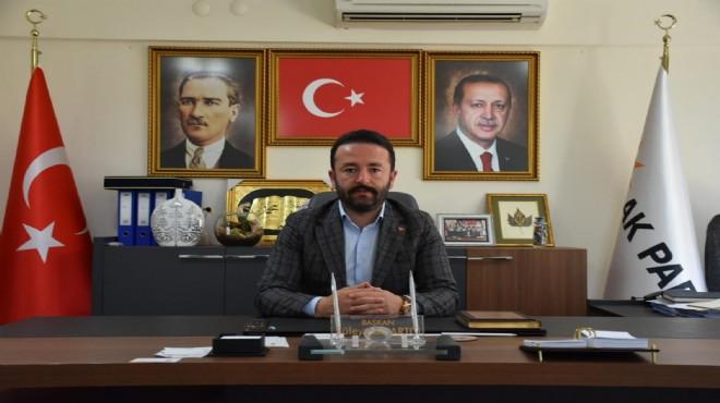 AK Parti Menderes'ten sert çıkış: Alnı açık olan ortaya çıkar!