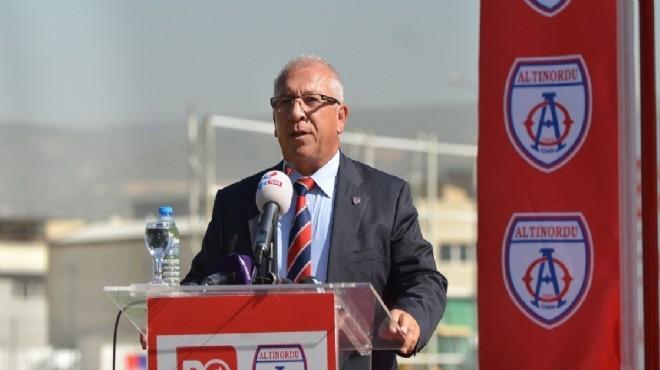 Altınordu Başkanı Özkan: Özkaynağa dönme zamanı