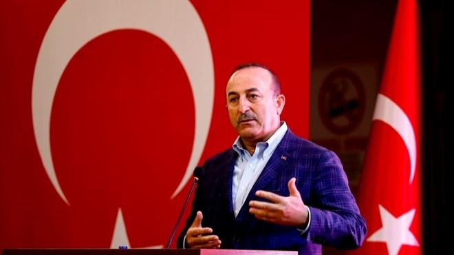 Bakan Çavuşoğlu'ndan AB'ye tepki