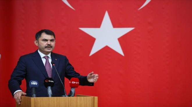 Bakan Kurum İzmir'de deprem konutları için tarih verdi!