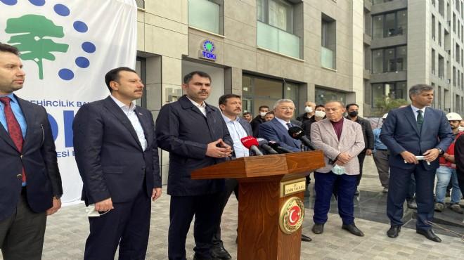 Bakan Kurum açıkladı: İzmir'e yeni dönüşüm projesi!