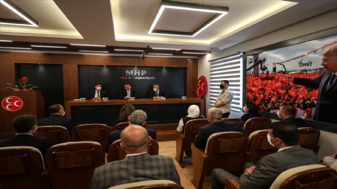 Bakan Pakdemirli'den MHP İzmir'e ziyaret: Cumhur İttifakı bu dördünü sindiren herkese açıktır!