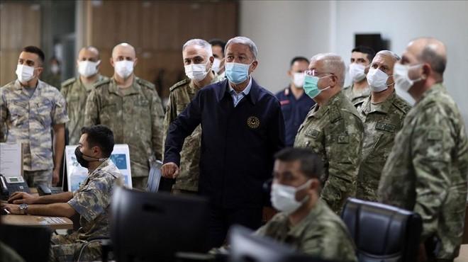 Bakanı Akar'dan Yunanistan'a silahlanma tepkisi