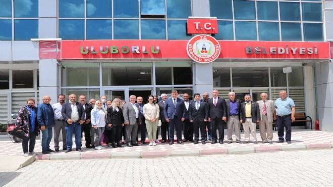 Başkan Tugay'dan kardeş belediye ziyareti