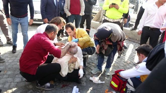 Beyoğlu'nda kadın turiste demir çubuklu saldırı