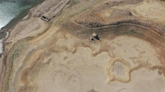 Bodrum'un suyunu karşılayan baraj kurudu!