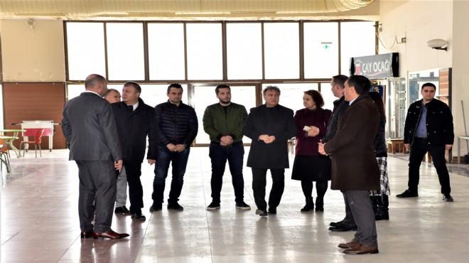 Bornova'da 'kültür merkezi' harekatı