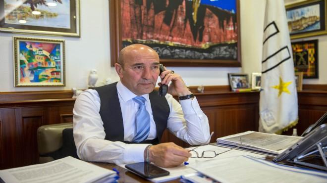 Başkan Soyer'den yaşlılara moral ve ihtiyaç telefonu!