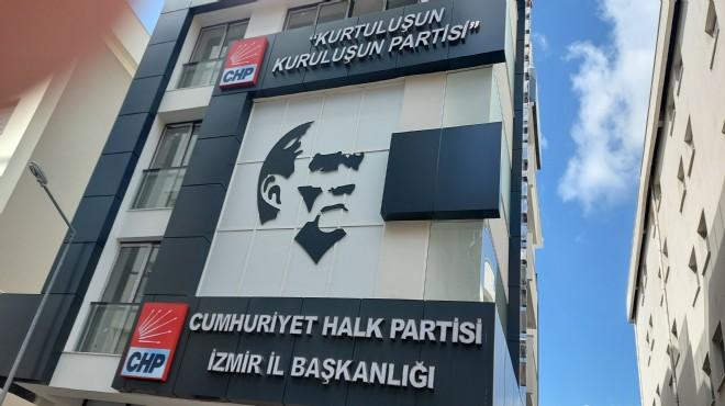 CHP İzmir'in yeni üssü için geri sayım
