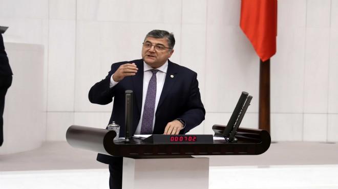 CHP'li Sındır'dan Bakanlığa kritik 'gıda stoğu' soruları!