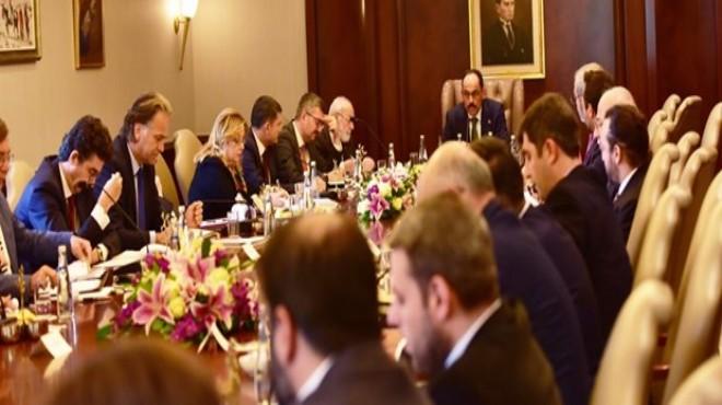 Çankaya Köşkü'nde Barış Pınarı çalıştayı