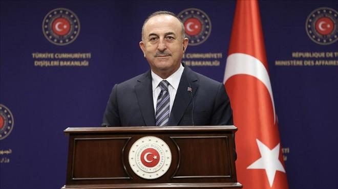 Çavuşoğlu'ndan kritik 'Suriye' mesajı!