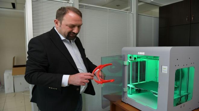 Çiğli Belediyesi'nden sağlıkçılara '3D' destek!