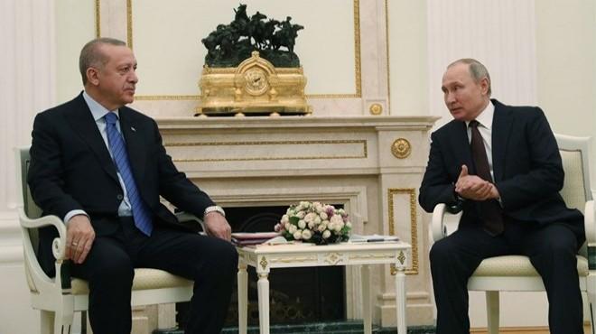 Cumhurbaşkanı Erdoğan Rusya lideri Putin ile görüştü