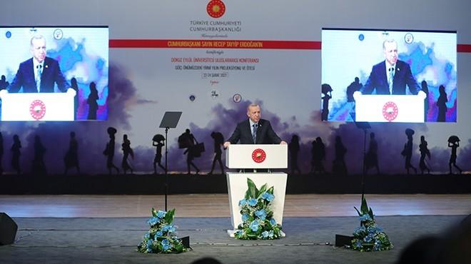 Cumhurbaşkanı Erdoğan'dan İzmir'de göç konferansında flaş mesajlar