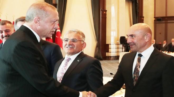 Cumhurbaşkanı Erdoğan ile Başkan Soyer'den 15 dakikalık zirve: Masada o 2 proje!