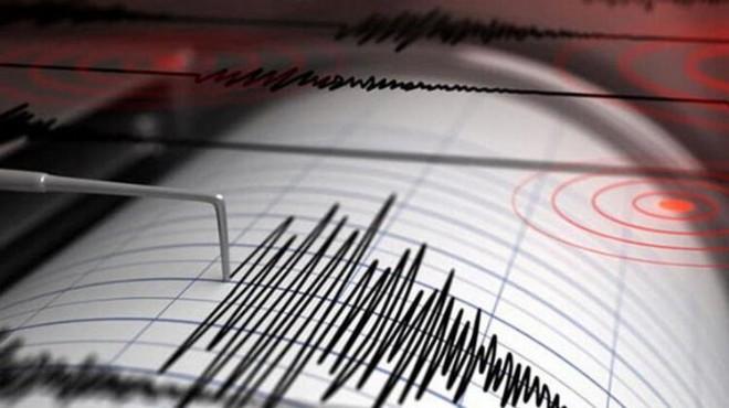 Datça ilçesi açıklarında korkutan deprem