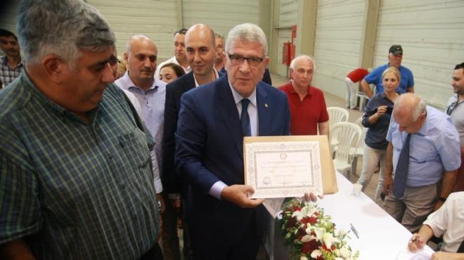 Dervişoğlu mazbatasını aldı, o mesajı verdi: Seçimin kaybedeni...