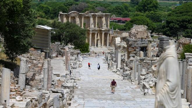 Efes Antik Kenti'ne '650' kotası!