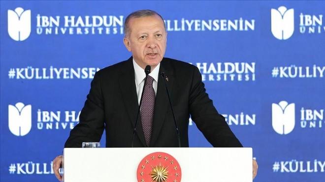Erdoğan: Topyekün eğitim reformu gerekiyor