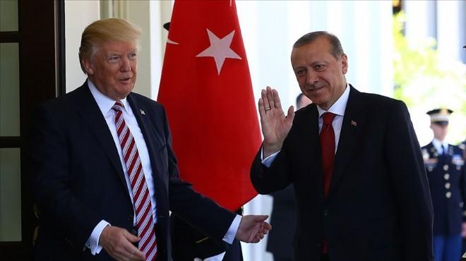 Erdoğan-Trump görüşmesine Pentagon da katılmış!
