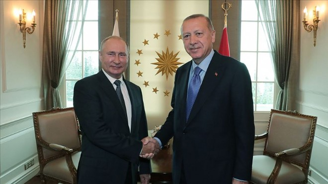 Erdoğan'dan Putin ile kritik görüşme