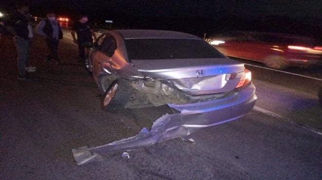 Feci kaza! İki otomobil çarpıştı: 4 yaralı