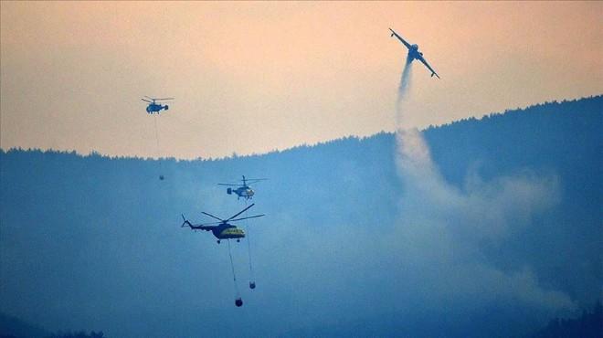Gelibolu Yarımadası'ndaki yangında son durum