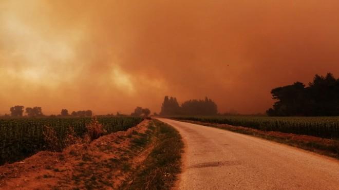 Gelibolu yangını kontrol altında: 450 hektar kül oldu!