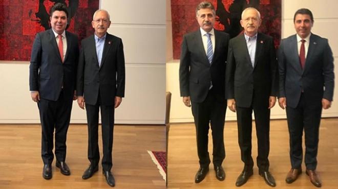 Genel Merkez'de İzmir günü: Başkanlardan 'Lider' ziyareti!