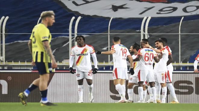 Göztepe deplasmanda Fenerbahçe'yi mağlup etti!