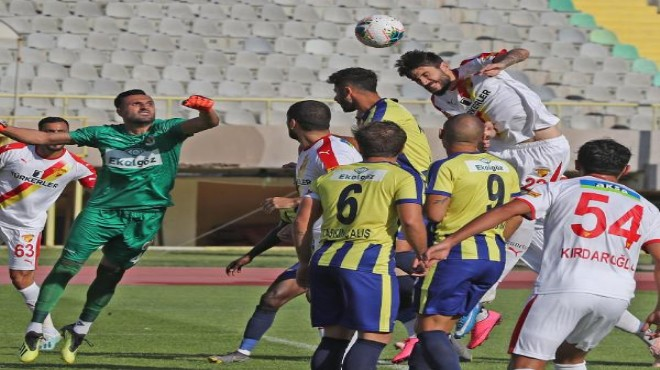 Göztepe hazırlık maçında Menemenspor'u yendi