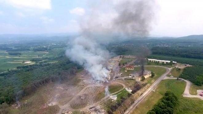 Havai fişek fabrikası patlamasında kritik açıklama