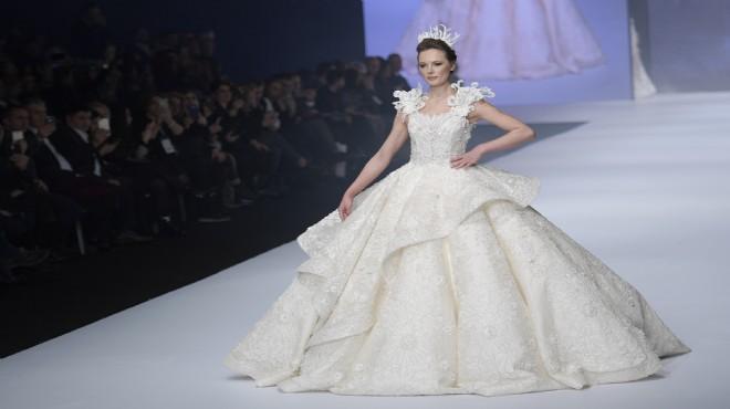 23675747cde92 IF Wedding'de beyaz podyum büyüledi