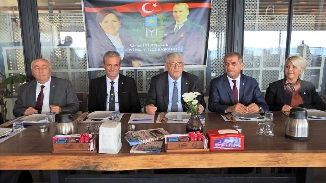 İYİ Partili Dervişoğlu'ndan Urla mesaisi
