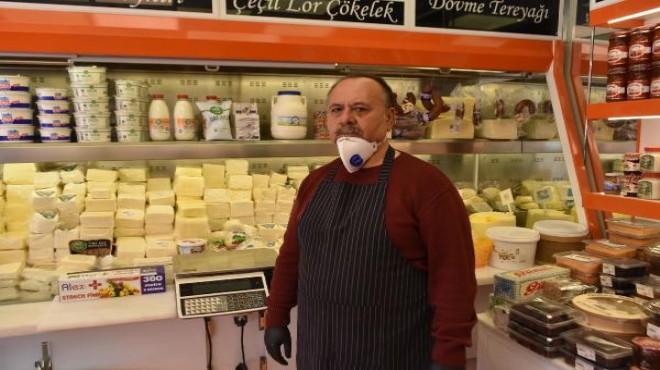 İhtiyaç sahipleri için 'askıda peynir'