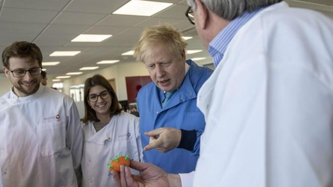 İngiltere Başbakanı Johnson'ın testi pozitif çıktı