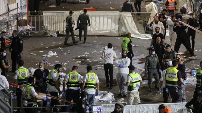 İsrail'de bayram faciası: 44 ölü, 103 yaralı!