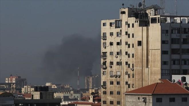 İsrail'den Gazze'de hava saldırısı!