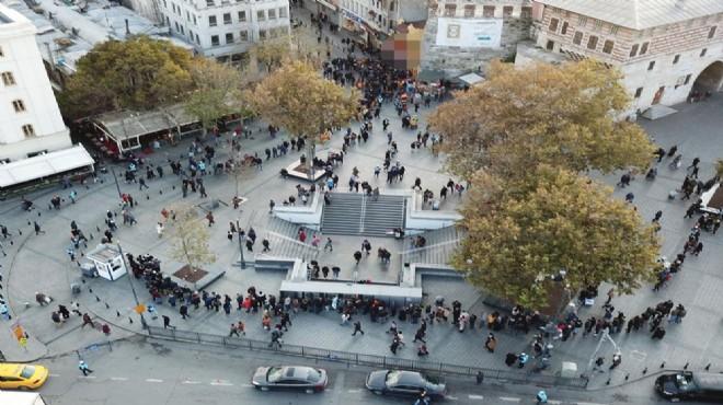 İstanbul'da 80 milyonluk kuyruk