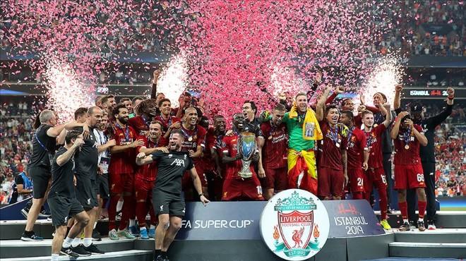 İstanbul'daki dev finalde zafer Liverpool'un