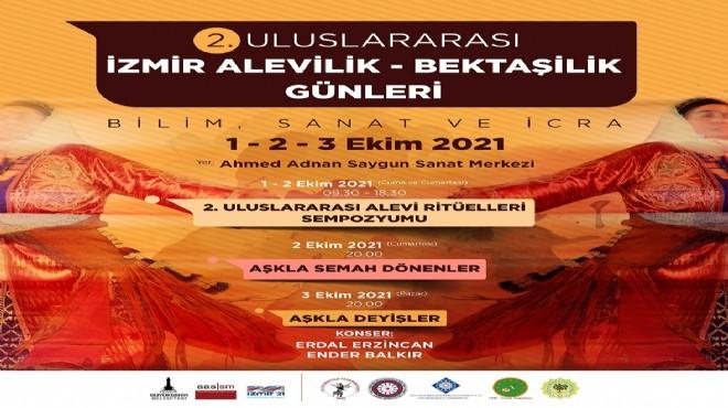 İzmir Alevilik Bektaşilik Günleri başlıyor