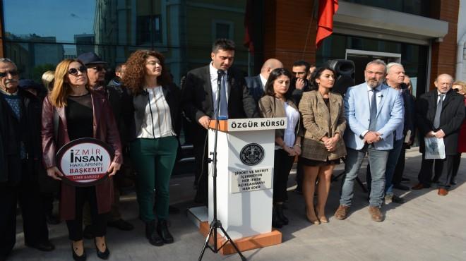 İzmir Barosu'ndan 'mücadele' vurgusu